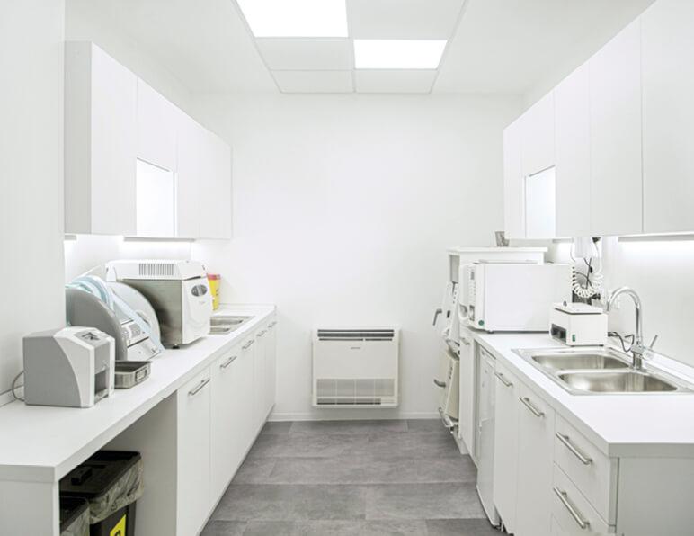 Sala Sterilizzazione Foto 3