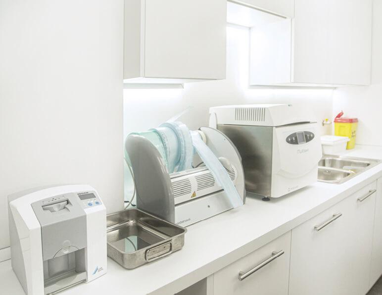 Sala Sterilizzazione Foto 1